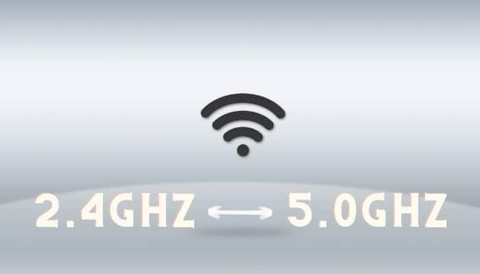 switching different wifi bandwidth