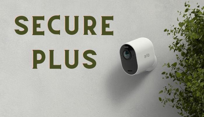 arlo secure plus plan